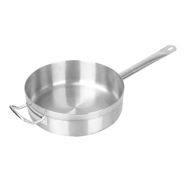 Stainless Steel Short Compound Bottom Sauce Pot