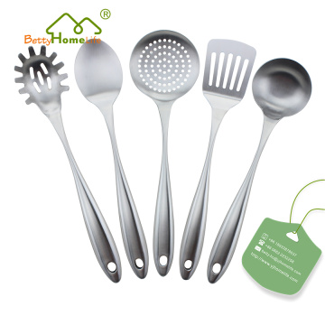 New Arrival 5PCS Stainless Steel Kitchen Utensils Set