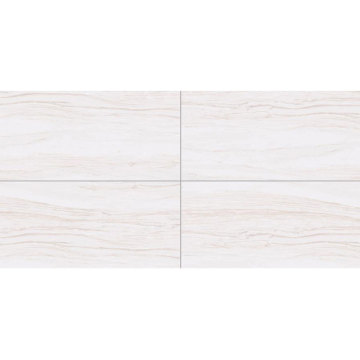 Large white long rectangular outdoor tiles