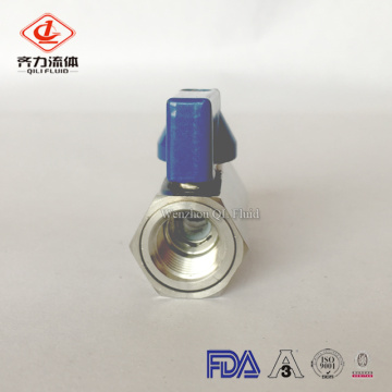 Sanitary Mini  Ball Valve with Male NPT Connection