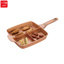 Die-Cast Aluminum Multifunction Fry Pan
