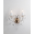 European Style Modern Bedroom Classic Crystal Wall Lamps