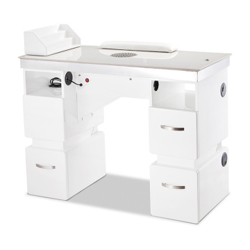 Beauty Salon Nail Table With Dust Collector