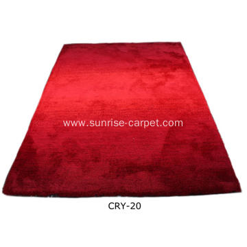 Microfiber Carpet With Blading Color