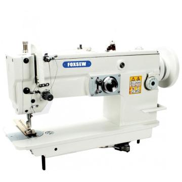 Flat Bed Drop Feed Heavy Duty ZigZag Sewing Machine Large Hook with Differential Structure