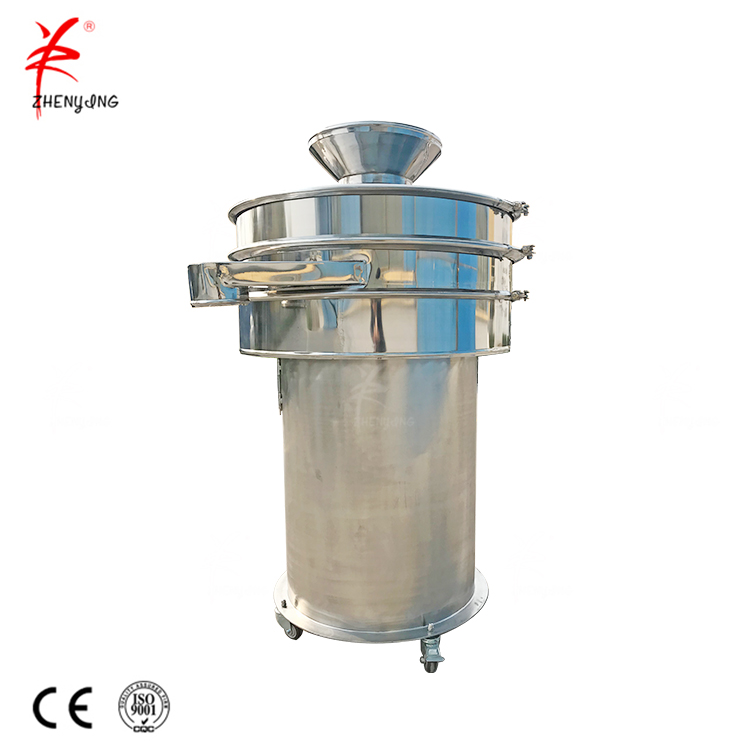 Coal particle size rotary vibrating screen sifter