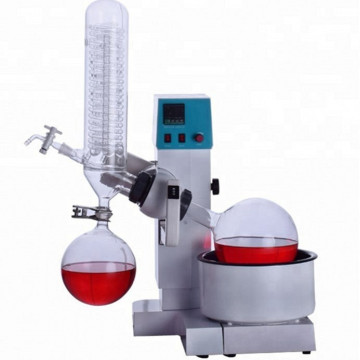 Small automatic lifed rotary evaporator types