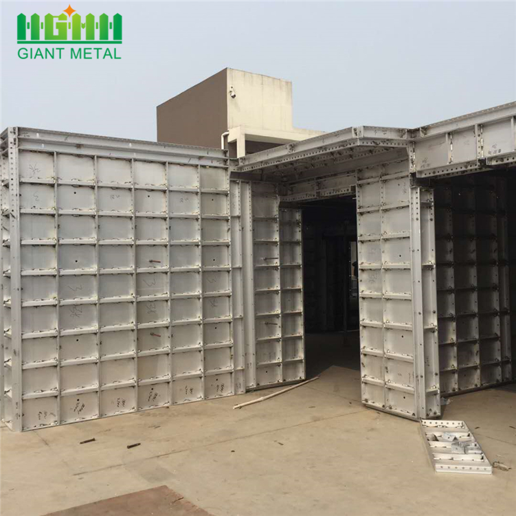 Formwork aluminum beams profiles constructions beams