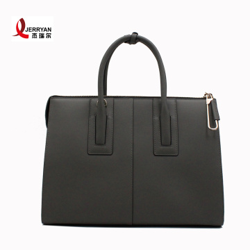 Black Pure Leather Designer Handbag for Women