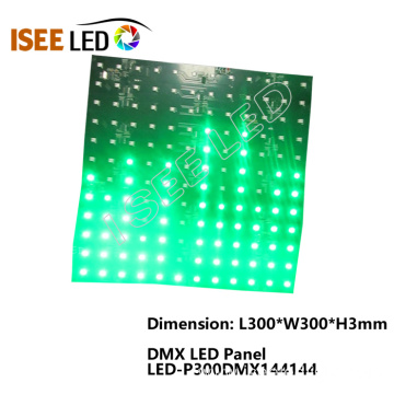 12x12 LEDs DMX 512 RGB LED Panel Kit