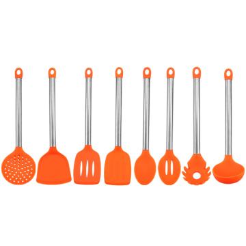 Newest Utility Colorful Silicone Chef Utensils