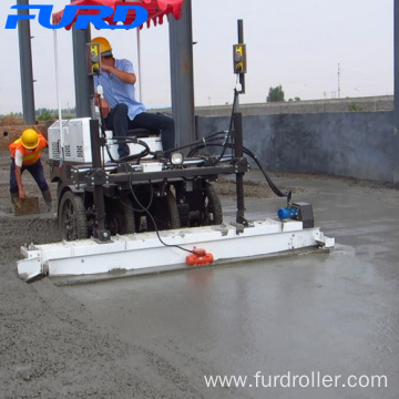 Laser Screed for Concrete Vibration and Leveling