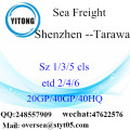 Shenzhen Port Sea Freight Shipping To Tarawa