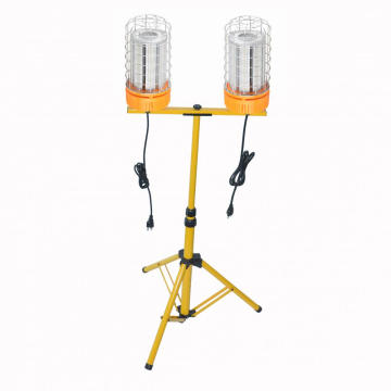 80W Portable Work Lights Tripid on Stands