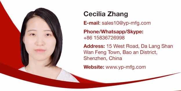 Cecilia Zhang Business Card