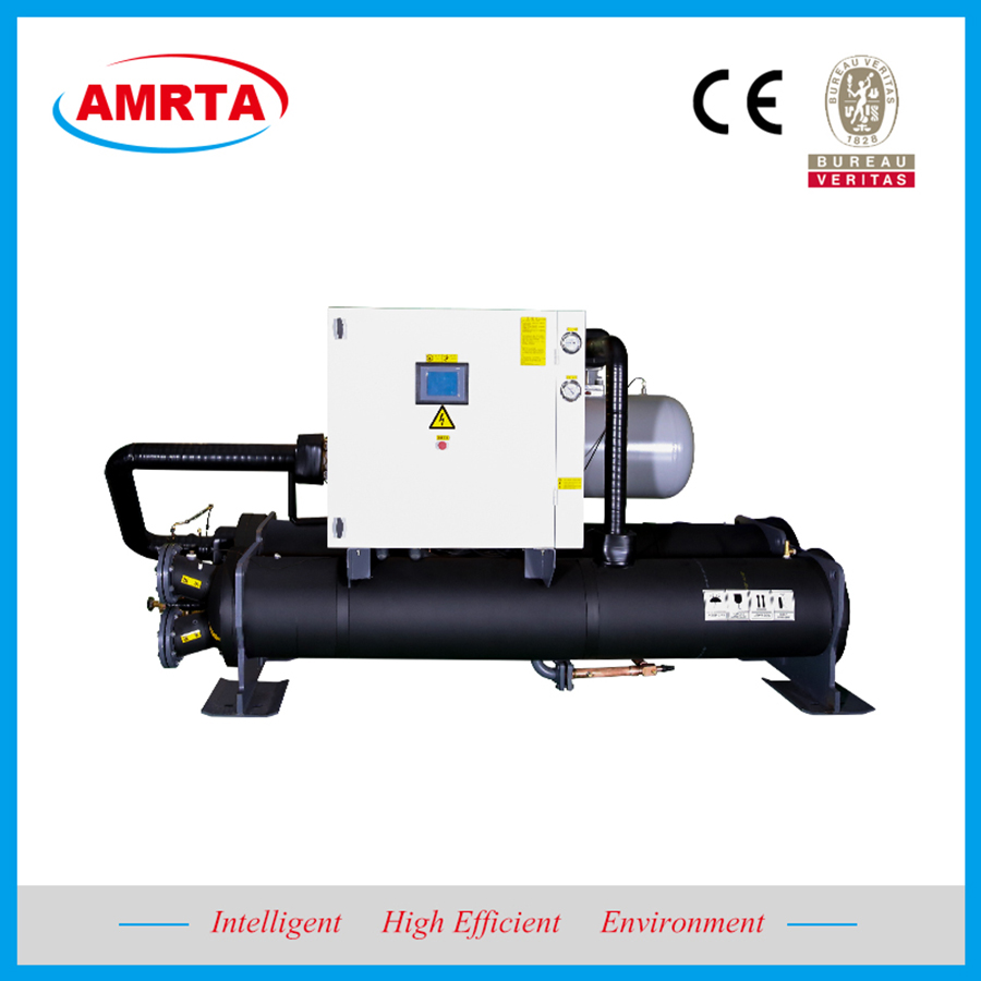 Laser Industry Brine Water Cooled Screw Chiller