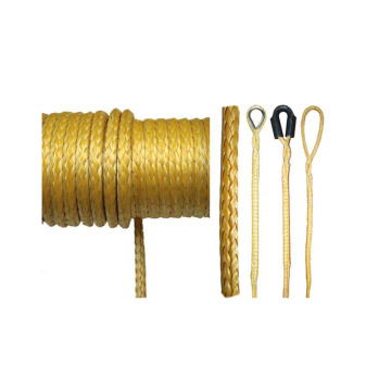 high polymer polyethylene rope winch rope