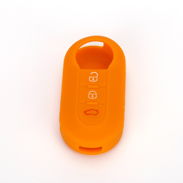 Silicone car key case in key wallet
