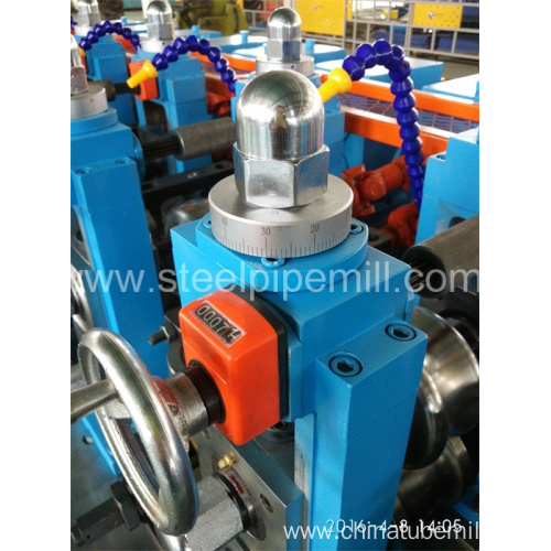 precision oval pipe making machine