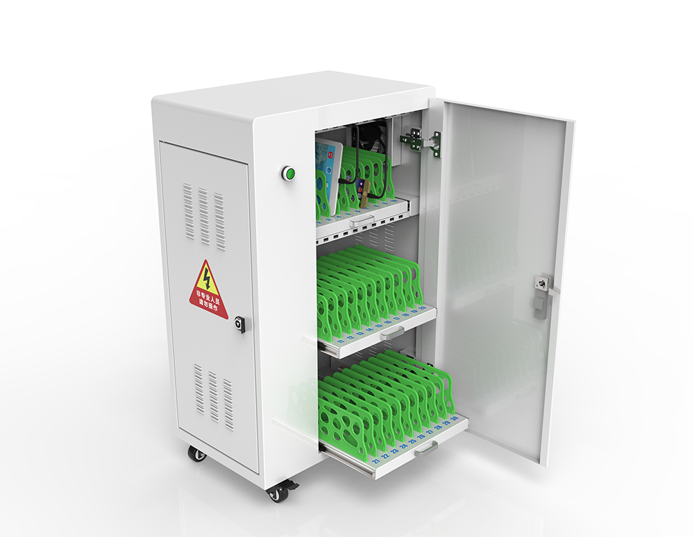 Smart platform charging carts in office