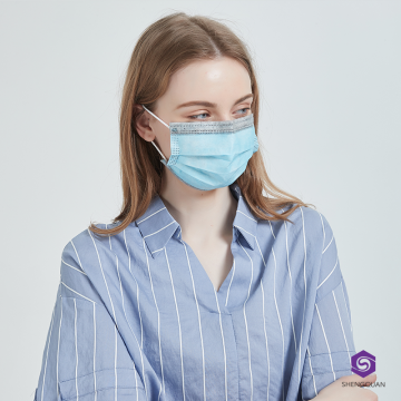 Disposable Face Mask 3 Ply Earloop Face Mask