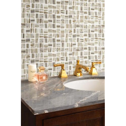Brown Mosaic Tiles For Living Room And Bathroom