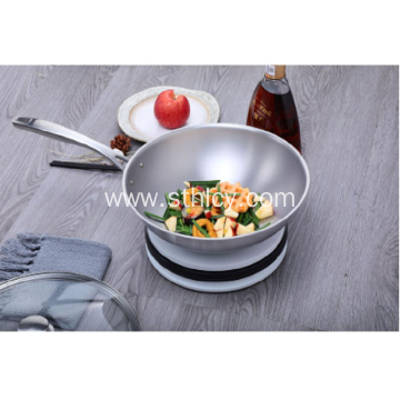 Stainless Steel Kitchen Pan