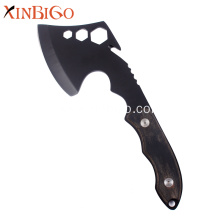 Wood Handle MultiFunction Outdoor Axe Survival Hatchet