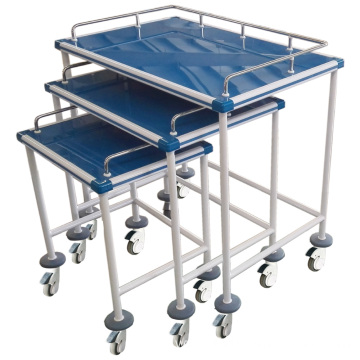 Hospital Wear-resistant Three-layer Instrument Trolley