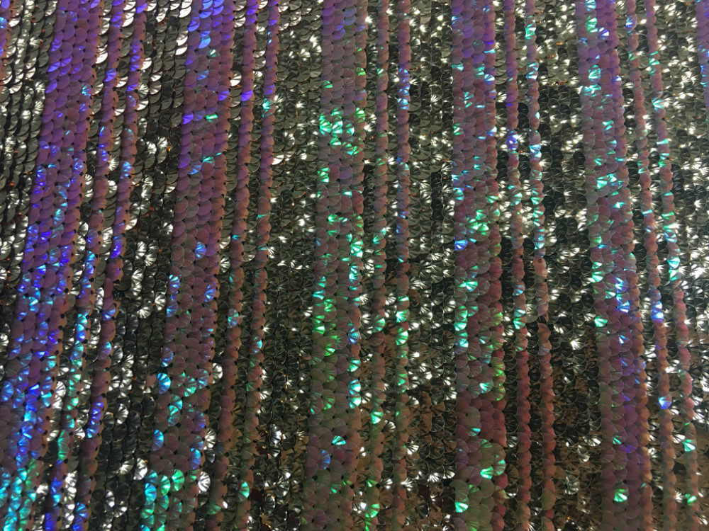 Sequin Embroidery Fabric