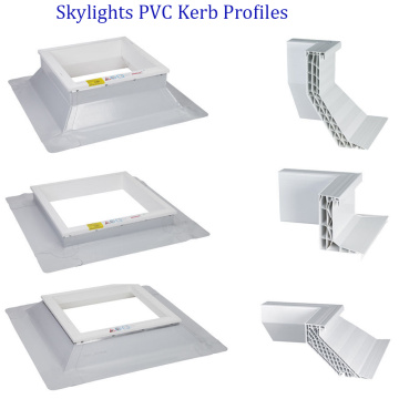 Thermo Kerb PVC Profiles for Roof Dome