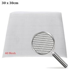 """doersupp NEW 40 Mesh / 425 Micron Stainless Steel Filter Filtration Woven Wire Screen Screen Filter 12""""X12"""""""