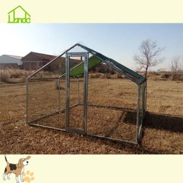 Large Silver Galvanized Chicken Coop Runs