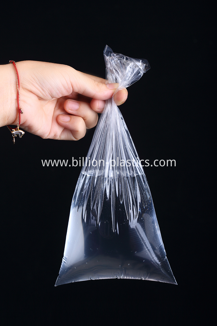 PE Side Seal Food Packaging Plastic Bag