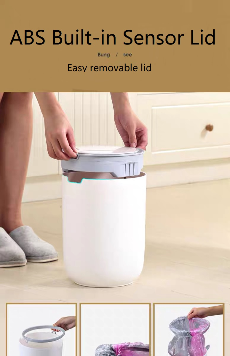 Compost Bin with Removable Lid