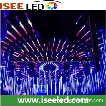 Professional rgb star lights led 3D tube disco