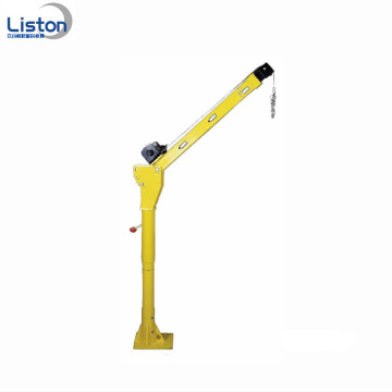 500kg mini electric swivel vehicle-mounted crane