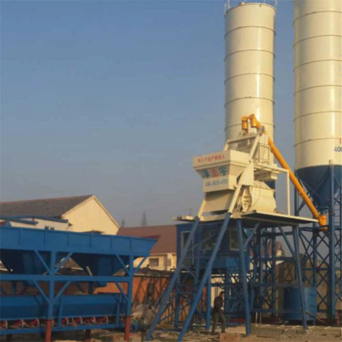 Automatic low operating cost 25m3/h concrete batching plant