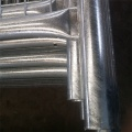 Galvanized portable pool fencing and gates