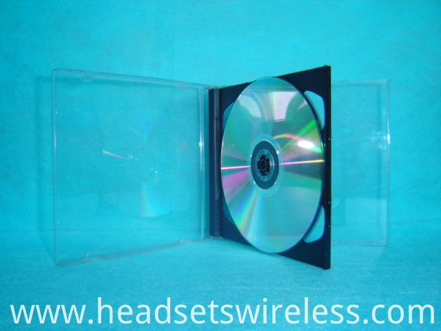 10 4mm Double Cd Case With Blackt Tray1