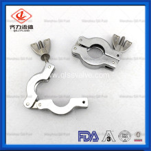 Stainless Steel Sanitary Kf Vacuum Clamp Pipe Band Clamp