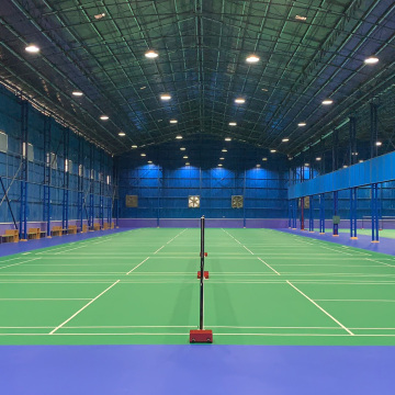 Badminton spotrs flooring with BWF certificate
