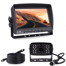Wired AHD Backup Camera nga adunay Monitor