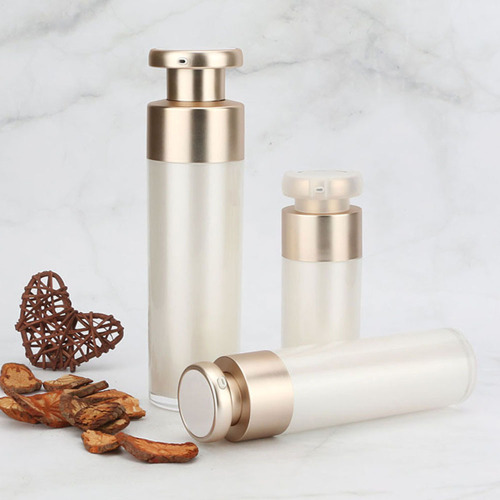 Luxury Double-layer Acrylic  cosmetic cream bottle