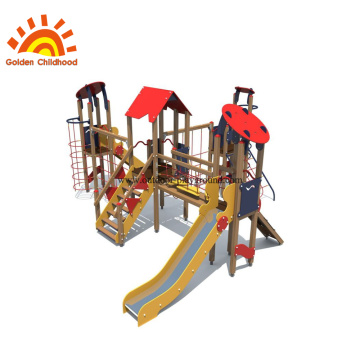 Amusement Park Attractive Outdoor Garden Slide