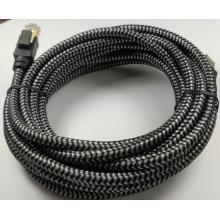 Nylon Braided Cat8 Ethernet Cable For Modem