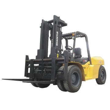 shantui 10 tons forklift truck with Japan Engine