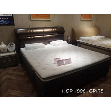 High quality leather soft bed