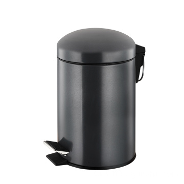 5 Litre Stainless Steel Dome Lid Pedal Bin