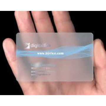 Clear Transparent Business VIP Card